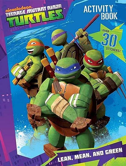 Amazon.com: Teenage Mutant Ninja Turtles Actividad libro w ...