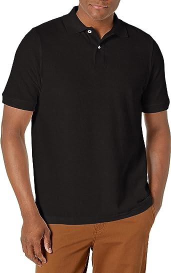Lee Uniforms Men's Modern Fit Short Sleeve Polo Shirt