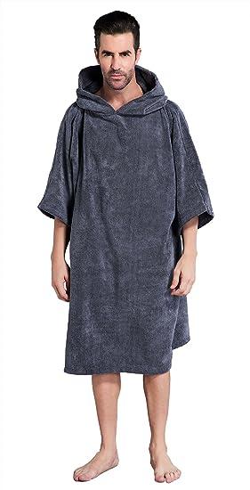 abe09f480907e9 Winthome Changing Towel Robe, Surf Poncho (Gray): Amazon.ca: Sports ...