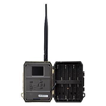 Cámara de caza 3G, cámara de Vigilancia (3G GPRS GSM) con fotoapp,