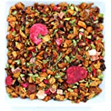 Tealyra - Pomegranate Raspberry - Fruity Herabl Loose Leaf Tea - Vitamins and Antioxidants Rich - Hot and Iced Tea - All Natural - Caffeine-Free - 112g (4-ounce)
