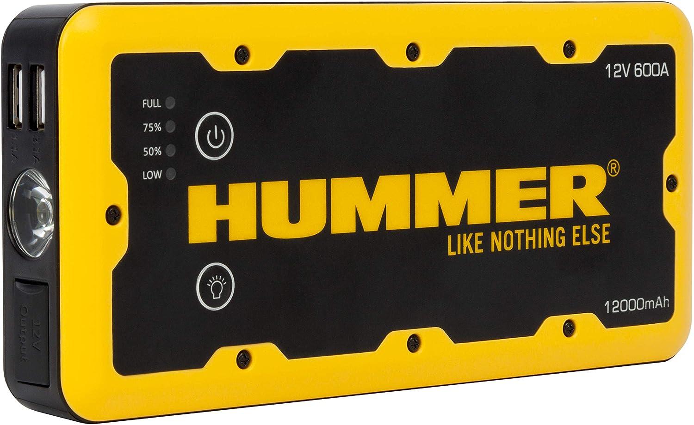 Hummer HUMM12000 Arrancador de Bateria para Coche 12000mAh: Amazon.es: Coche y moto
