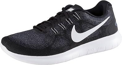 Nike Free Rn 2017, Zapatillas de Entrenamiento para Hombre, Negro (Black/White/Dark Grey/Anthracite), 40.5 EU: Amazon.es: Zapatos y complementos