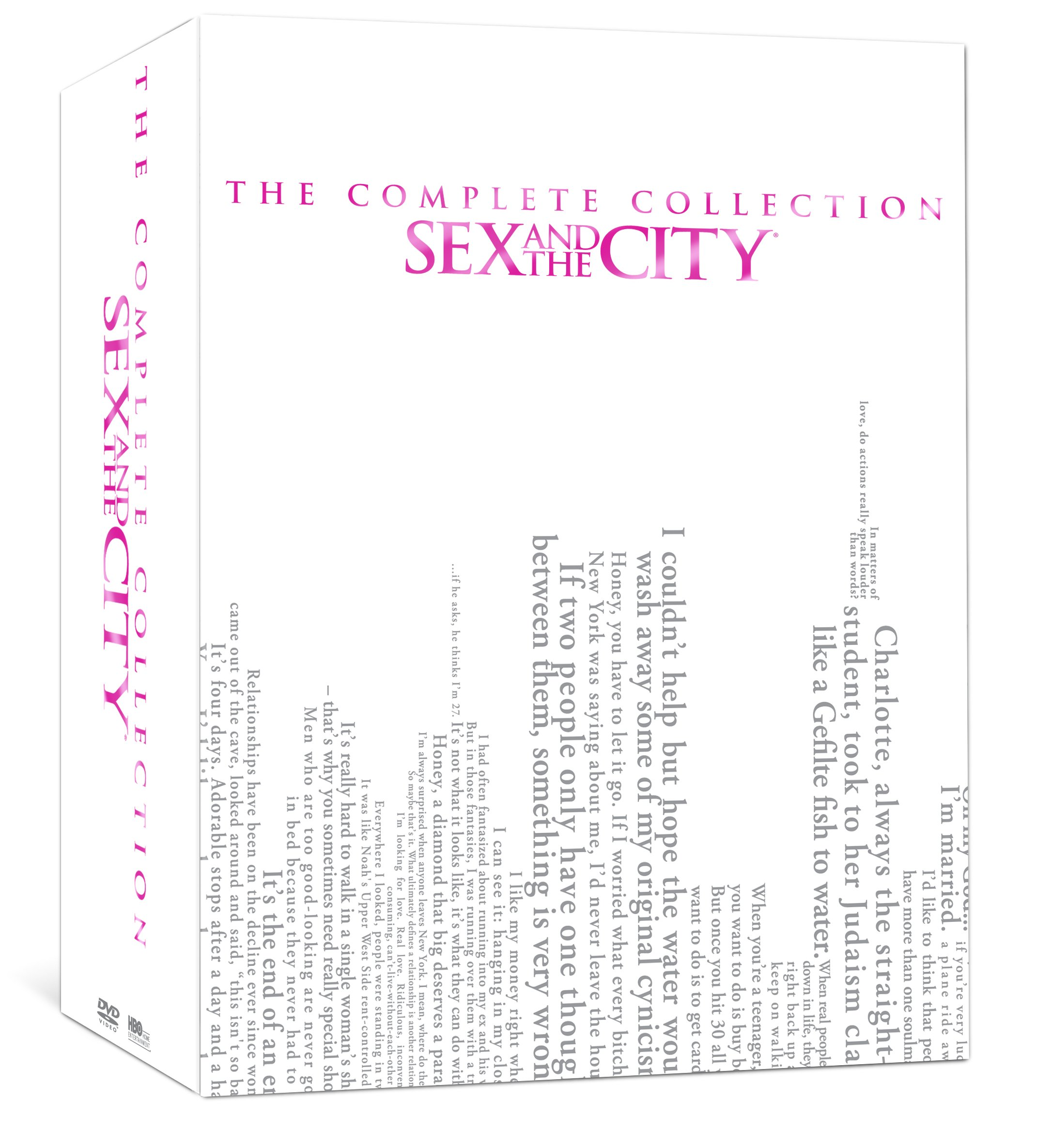 DVD : Sex and the City: The Complete Series (Oversize Item Split, Boxed Set, Slipsleeve Packaging, Repackaged, 7 Disc)