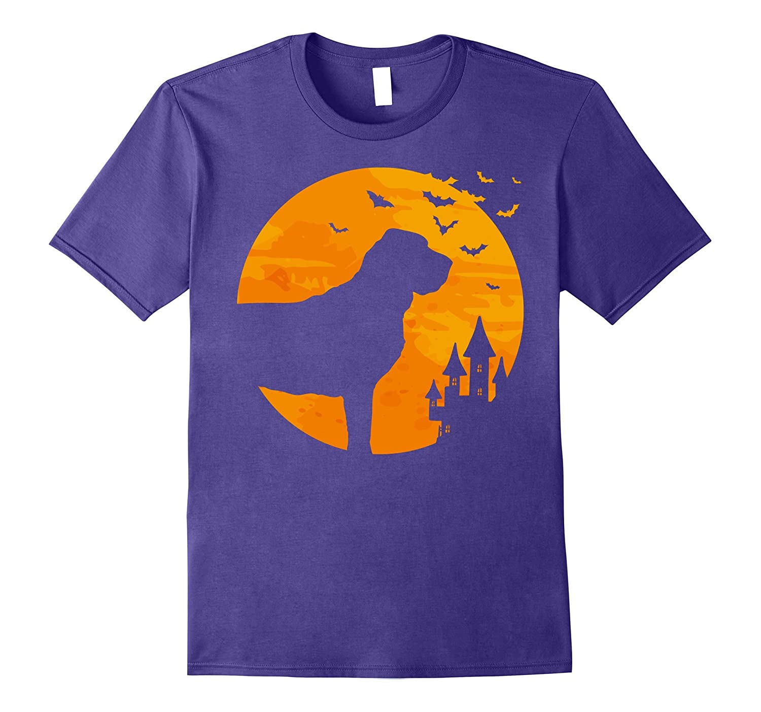 Bloodhound Tee Scary Halloween T Shirt-FL