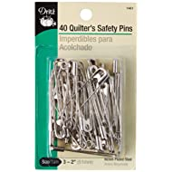 Dritz 1461 Safety Pins, Size 3  (2-Inch), 40-Count