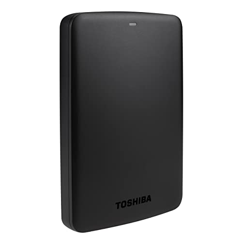 Toshiba Canvio Basics 1TB Portable External Hard Drive 2.5 Inch USB 3.0 - Black - HDTB310EK3AA