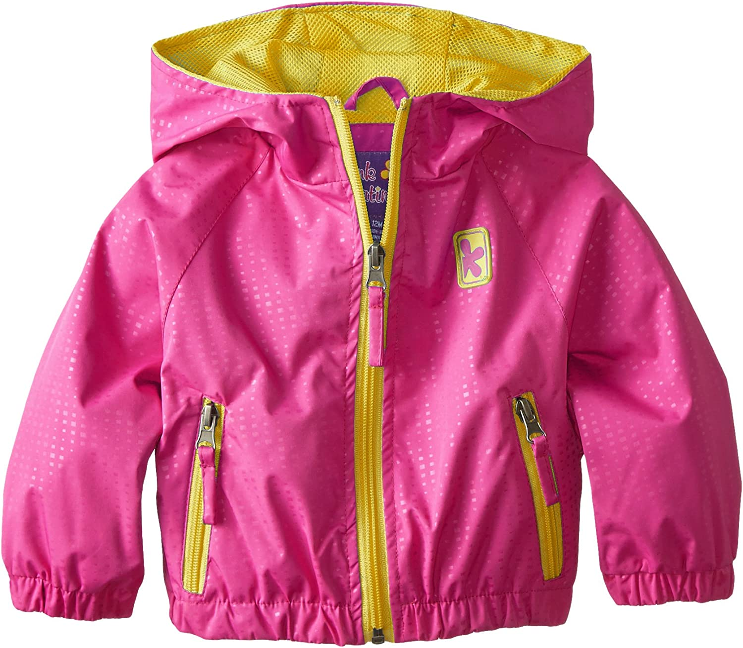 Pink Platinum Baby Girls Athletic Pop Jacket