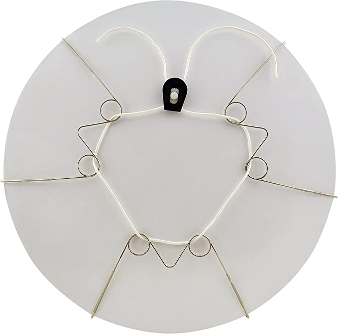 Plate Wire Hanging Gold Hanger Flexible Wall Display Art Decoration Home