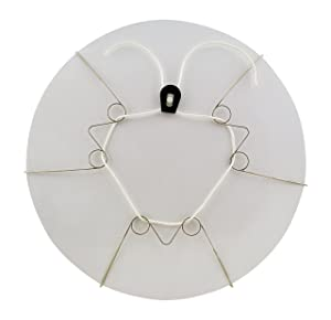 Display Buddie Large Adjustable Plate Holder Decorative Plate Wall Hanger   Plate Hangers for The Wall   Vase Hanger, Bowl Hanger, and More! Hang & Display Decorative Plates on Your Wall   Size L