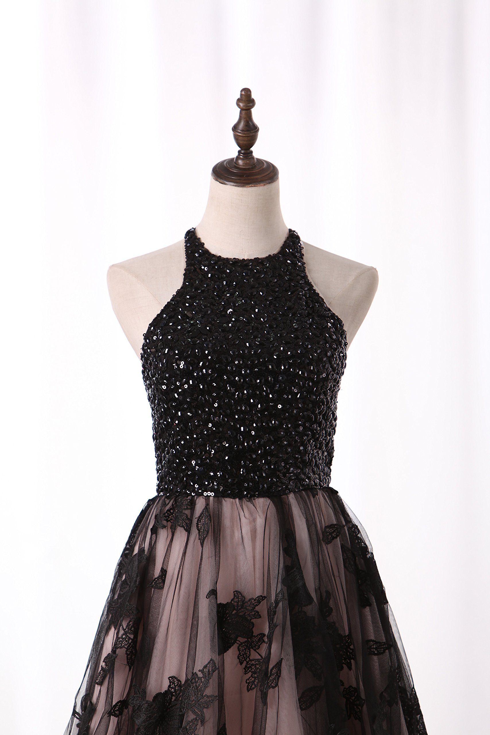 Tdress Girl's Scoop A Line Beaded Homecoming Dresses Size 8 by Tdress (Image #4)