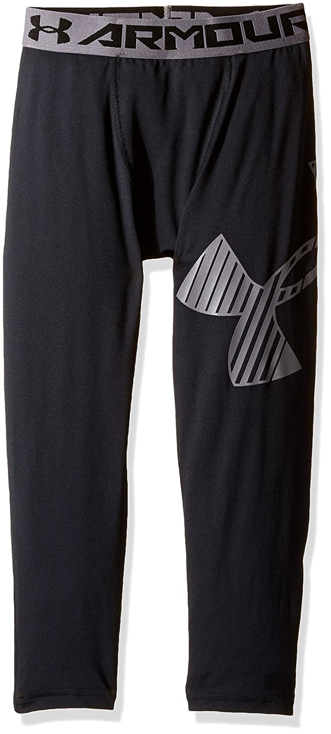 Under Armour Boys' HeatGear Armour Logo ¾ Leggings Under Armour Apparel 1289963