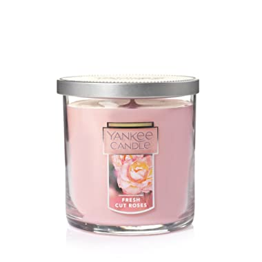 Yankee Candle Small Tumbler Candle, Fresh Cut Roses