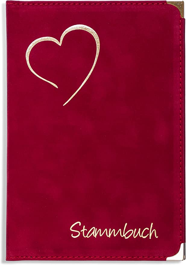 Stammbuch Anthrazit Dany Familienstammbuch Hochzeit Stammbuch der Familie