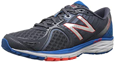 New Balance Men\u0027s M1260V5 Running Shoe, Silver/Blue, ...
