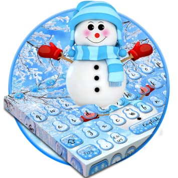 Amazon com: Cute Winter Snowman Keyboard Theme: Appstore for