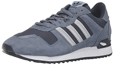 adidas Herren ZX 700 Originals Laufschuh, blau Tech Ink