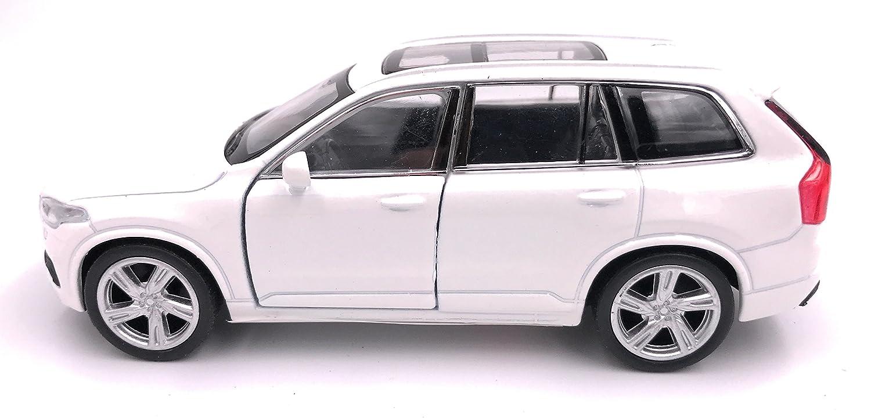 34-1 39 bianco Welly Volvo XC 90 auto modello di licenza prodotto auto 1
