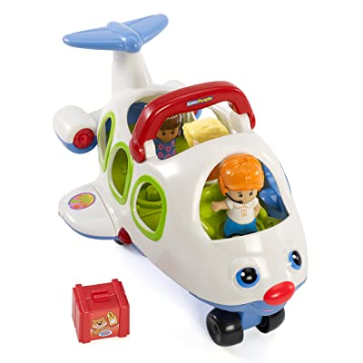 Fisher-Price Little People Lil' Movers Airplane: Toys & Games
