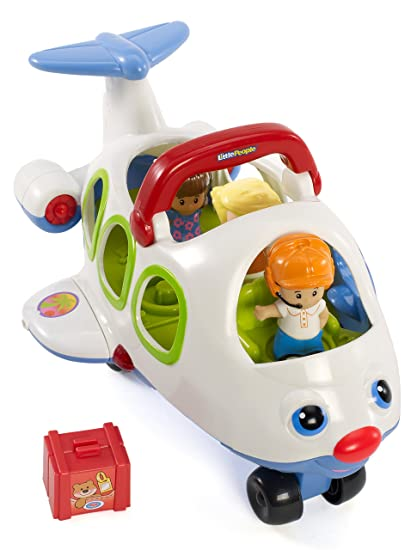 06f362c64a4 Fisher-Price Little People Lil' Movers Airplane