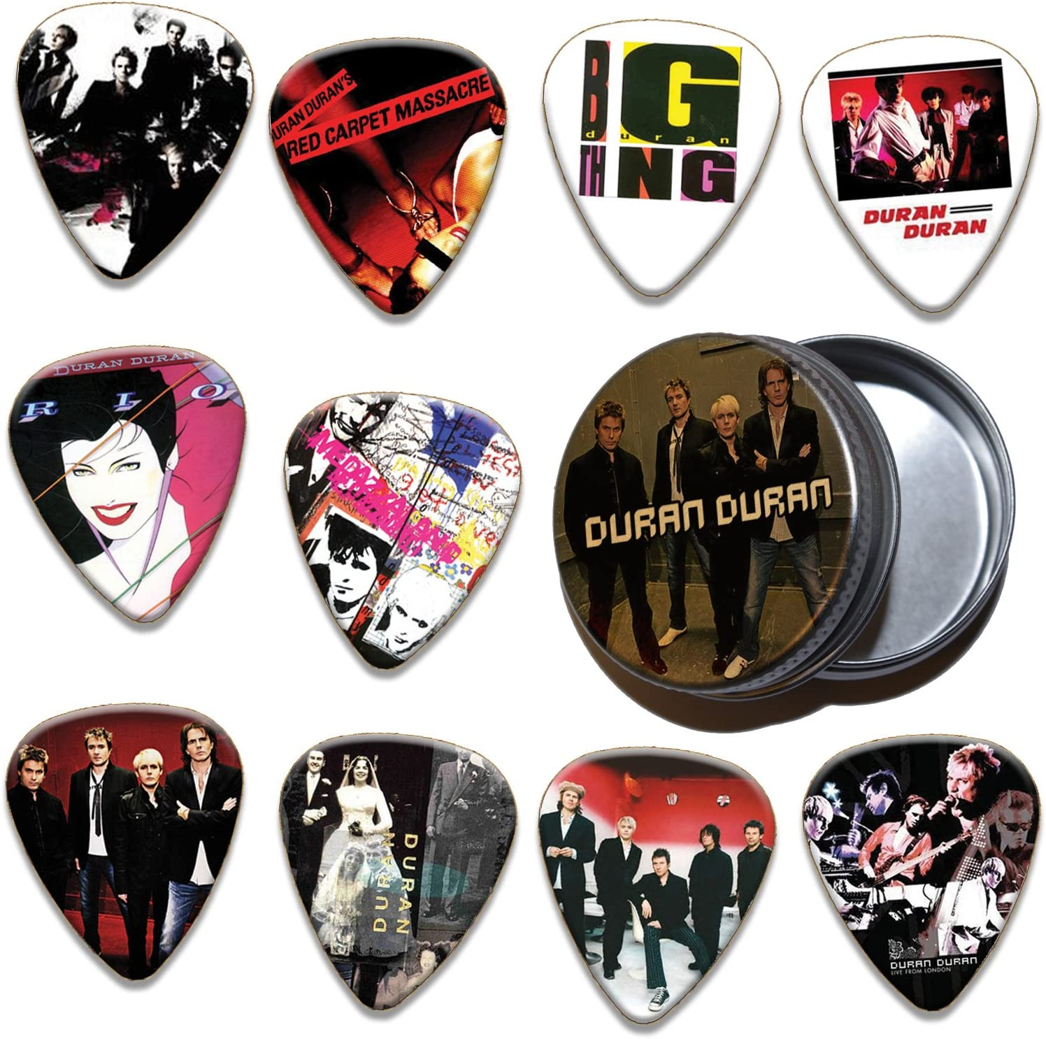 Duran 10 x selecciones de la guitarra y estaño (a 100 Ltd ...
