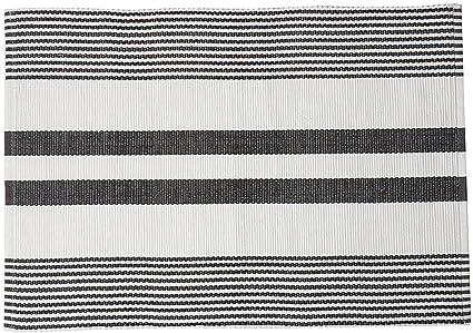 Amazoncom Cf Home Classic Stripes Black And White Striped Cotton