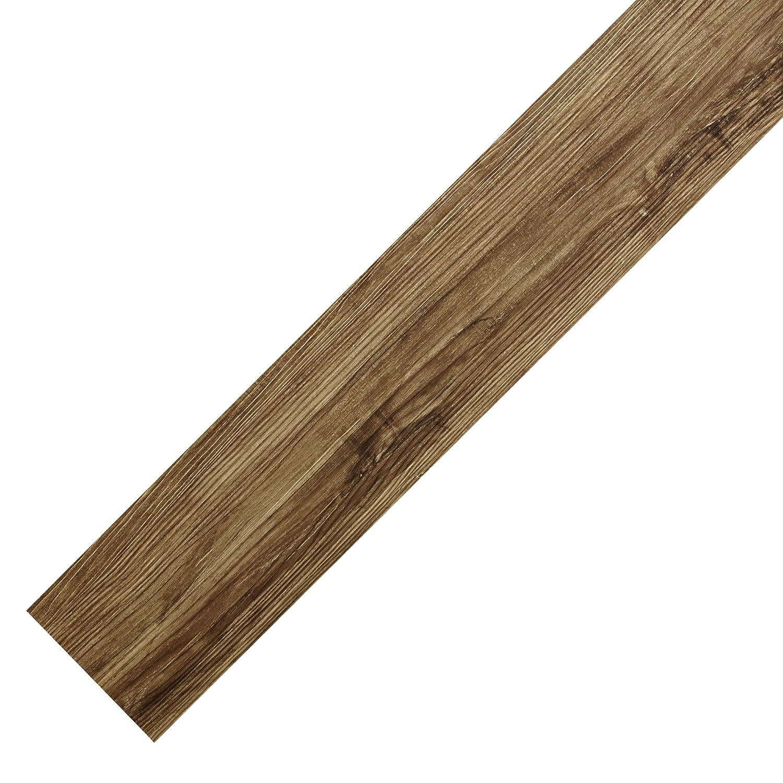 NEUHOLZ® Suelo de vinilo autoadhesivo aprox. 1m² láminas de PVC color roble natural - suelo decorativo [neu.haus]®
