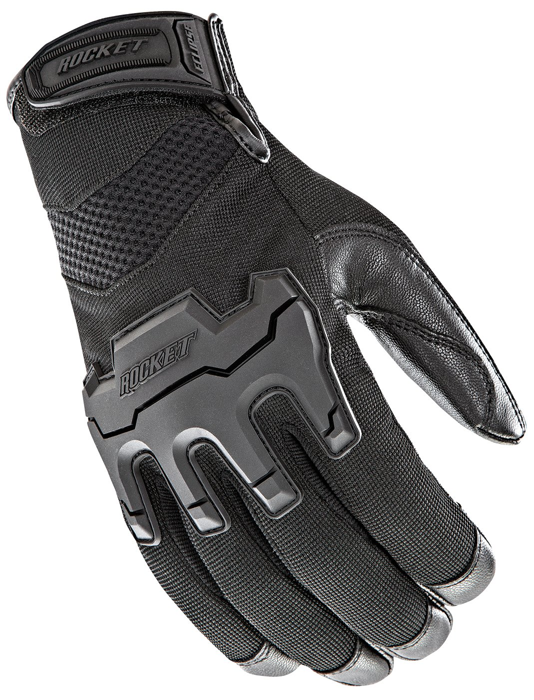 Joe Rocket Men's Eclipse Gloves (Black, Large)