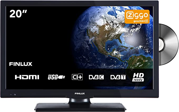 FINLUX FLD 2422 61 cm (24 Pulgadas) de TV LED (USB, HDMI y Lector ...