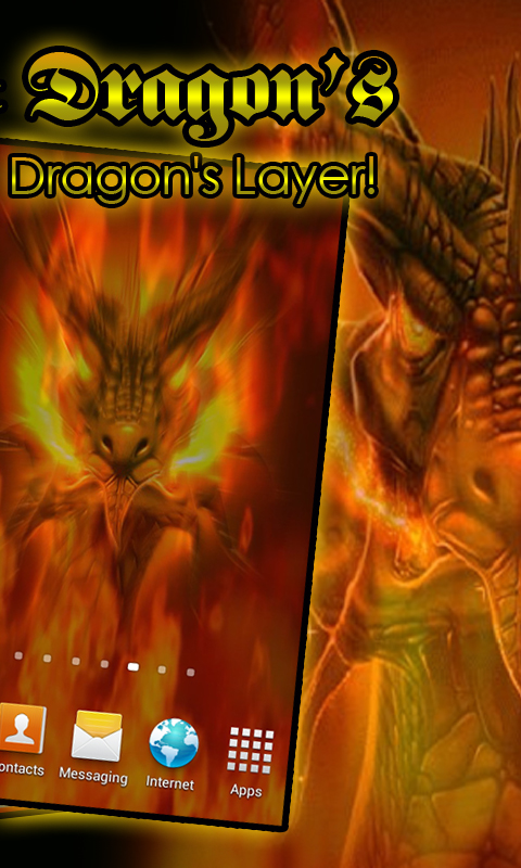 Amazon.com: Hell's Fire Dragon's Layer LWP: Appstore for Android