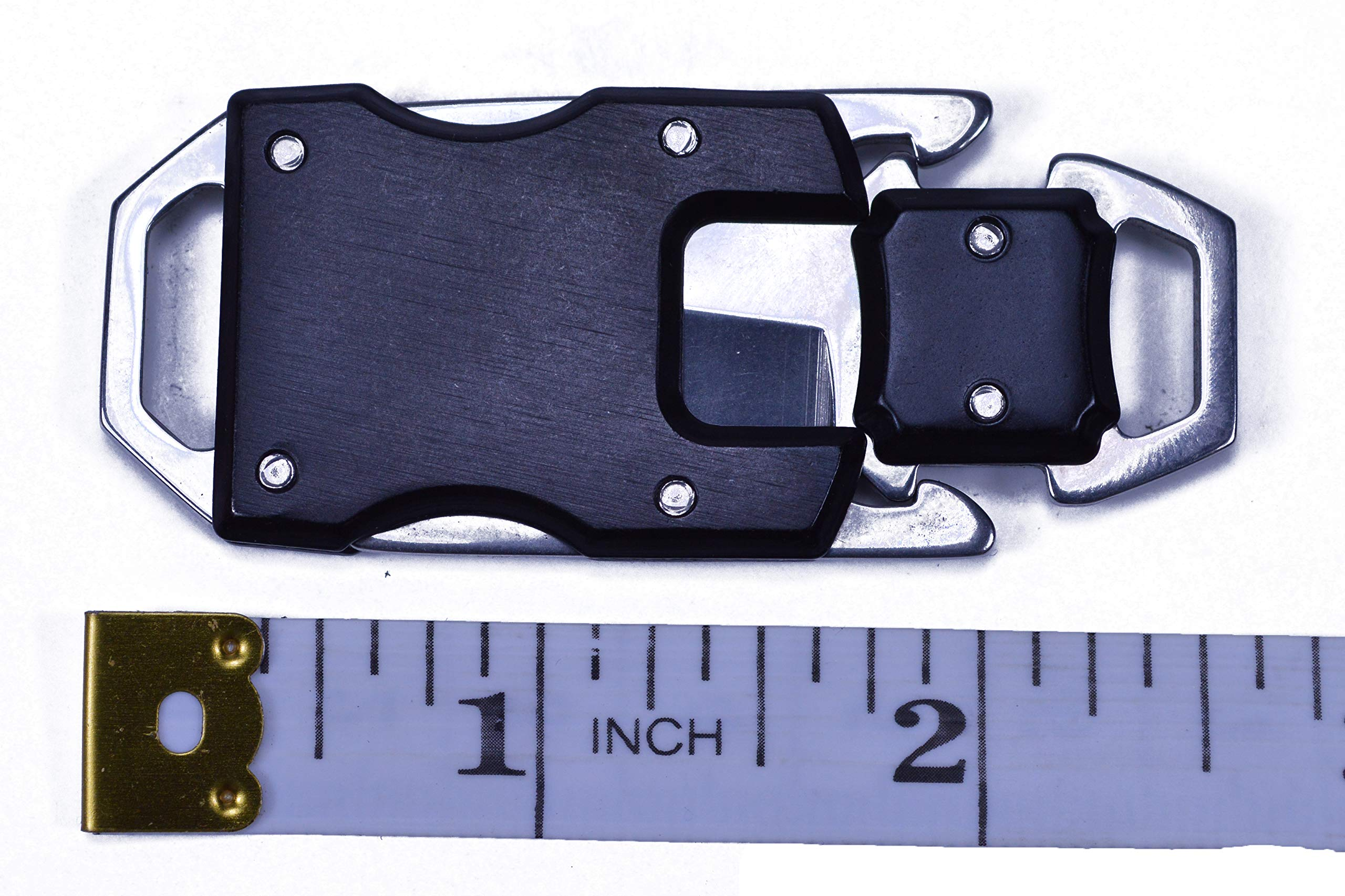 3 Pack - Knife Buckles with Safety Latches - Great for Paracord Bracelets or Keyfobs by Bored Paracord (Image #5)