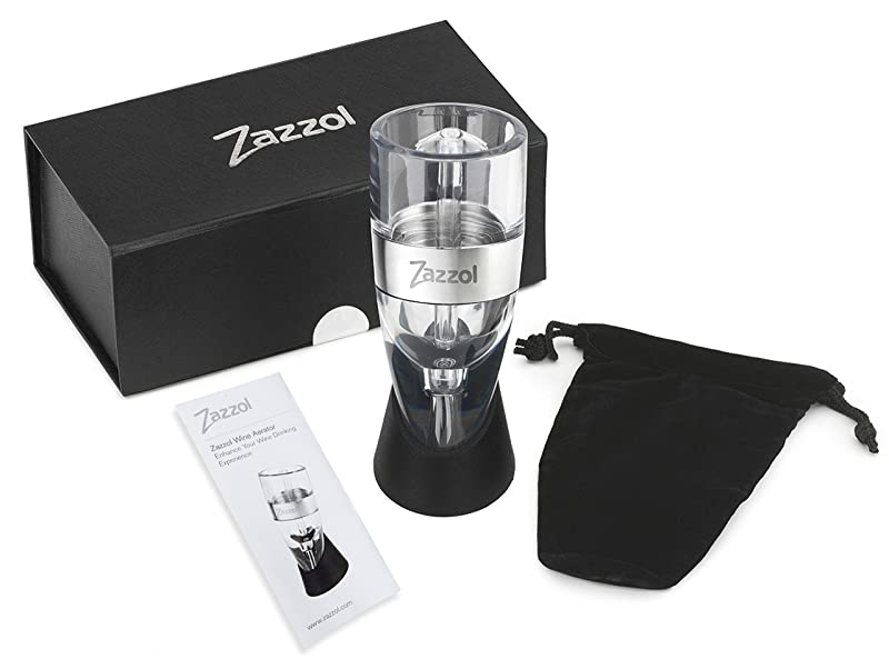 Zazzol Wine Aerator Decanter Review