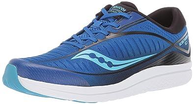 94bccbebdf Amazon.com | Saucony Boys' Kinvara 10 Sneaker Blue/Black 060 Medium ...