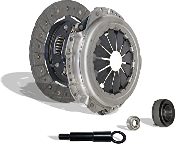 Clutch Kit Compatible With Cl Accord Prelude Dx Ex Lx Value Package Type SH VTEC 1990-2002 2.2L l4 2.3L l4 GAS SOHC 2.2L l4 GAS DOHC Naturally Aspirated F22; F23