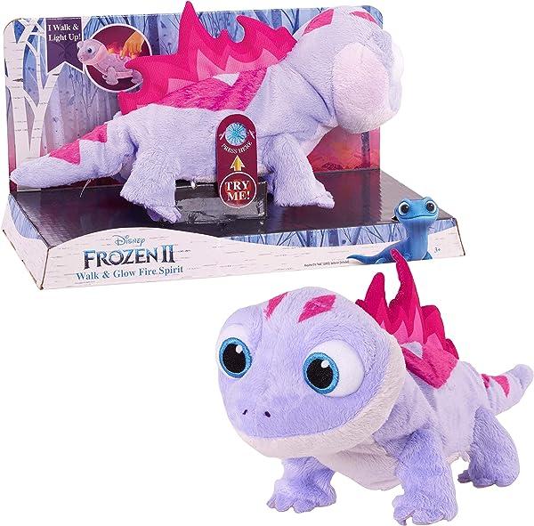 Disney Frozen 2 Light-Up Walk & Glow Fire Spirit Salamander Interactive Pet