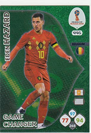Eden Hazard Limitierte Edition Trading-Karte Belgien Adrenalyn XL FIFA World Cup 2018 Russland