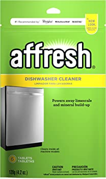 6-Count Affresh Dishwasher Cleaner Tablets