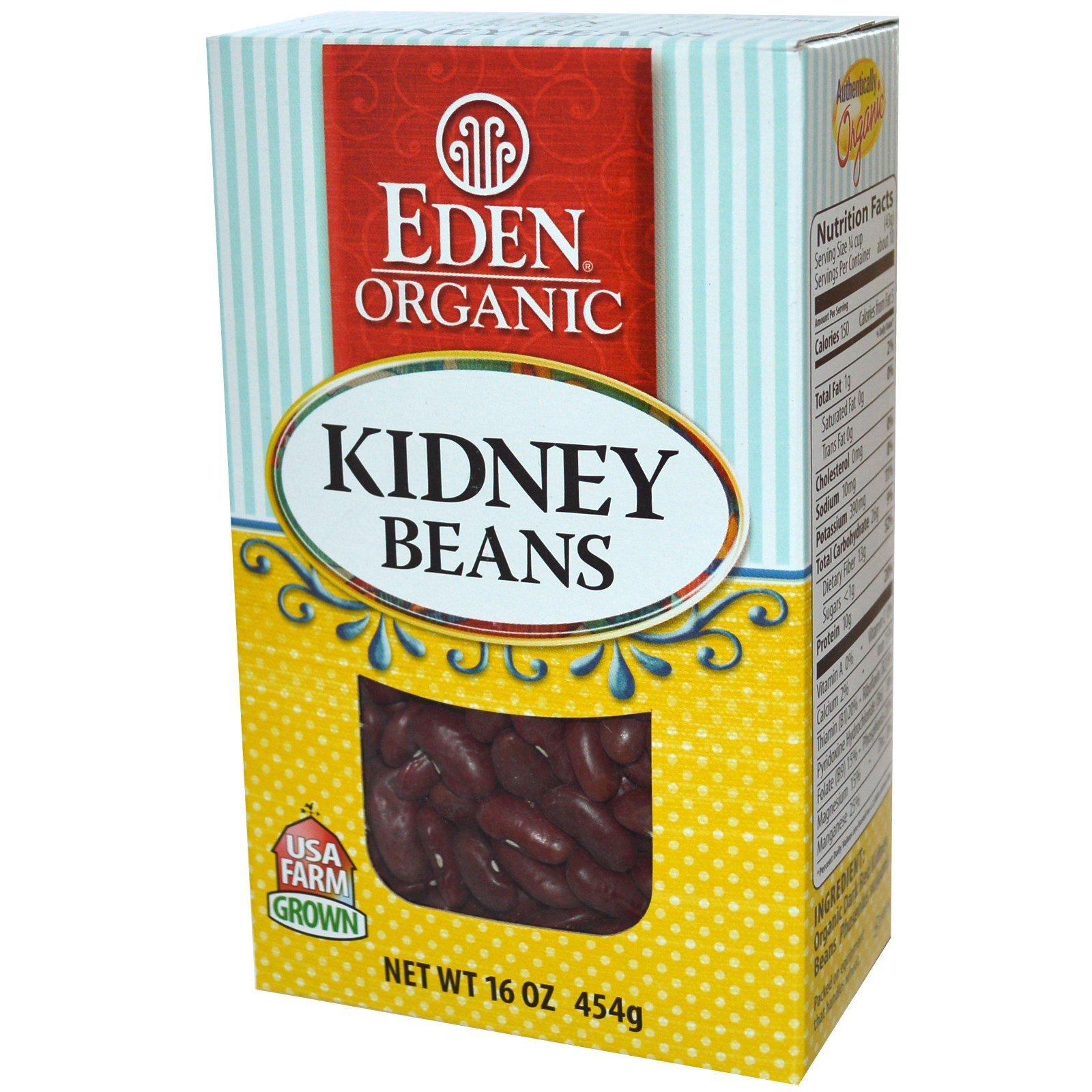 Eden Foods, Organic, Kidney Beans, 16 oz (454 g) Eden Foods, Organic, Kidney Beans, 16 oz (454 g) - 2pcs by Eden
