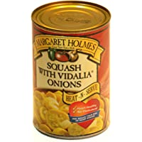 Margaret Holmes, Squash with Vidalia Onions, 14.5oz Can (Pack of 6)