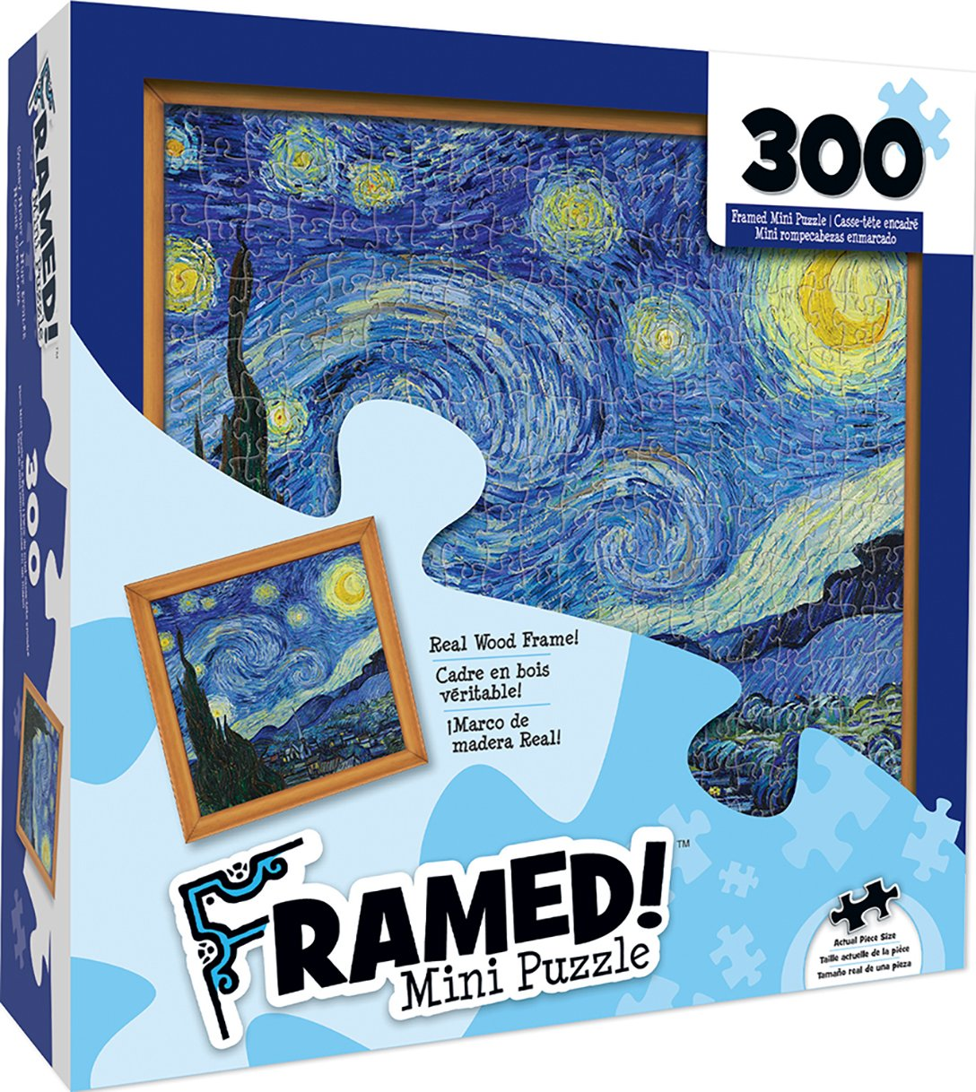 MasterPieces Obras maestras del Mundo más pequeño Puzzle con Marco, Arte por Howard Robinson, 308-piece