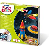 Fimo 7-Parts Kids Form and Play Space Modelling Set, Multi-Colour