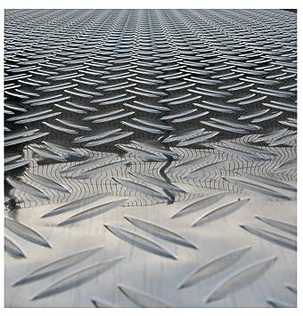 Berühmt 1x Riffelblech Tränenblech 1000x1000 mm 2,5/4 mm DUETT geriffelt HI98