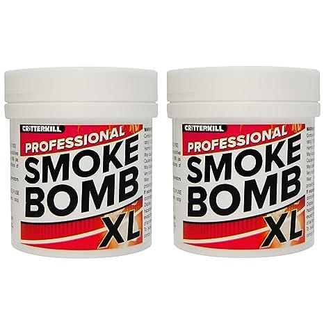XL Bomba de humo contra pulgas, chinches, polillas y todos los insectos, 15