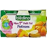 Blédina - Mon 1er Petit Pot Potiron dès 4 mois 2x130g