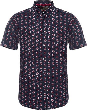 Merc of London Pickford Blusa para Hombre: Amazon.es: Ropa y accesorios