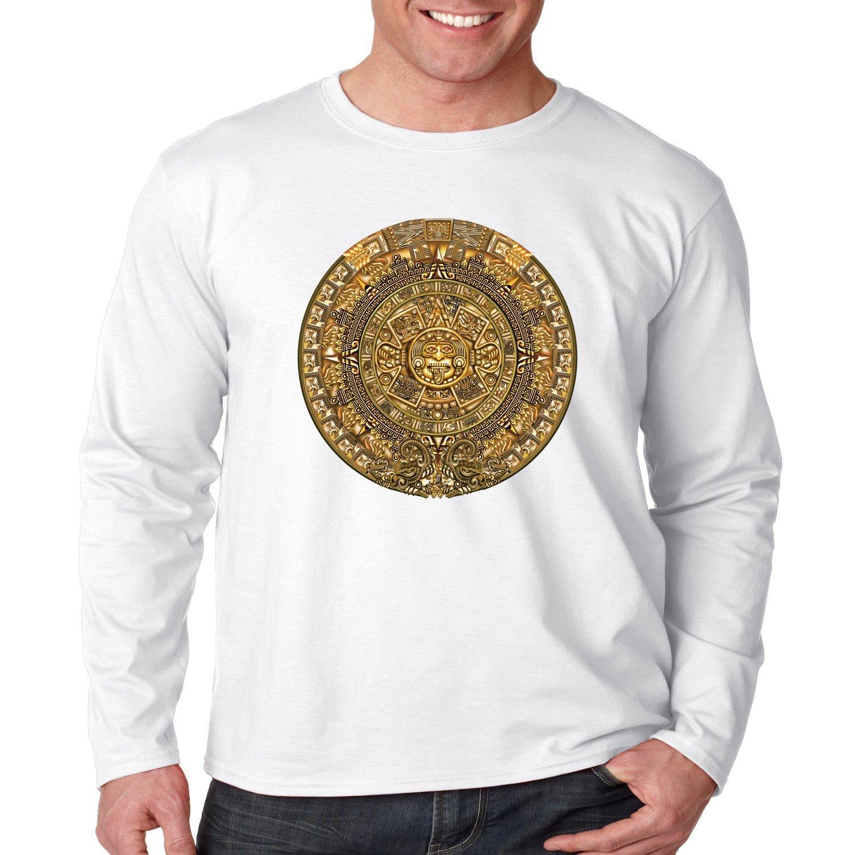 Juiceclouds Aztec Shirt Mayan Calendar 8666