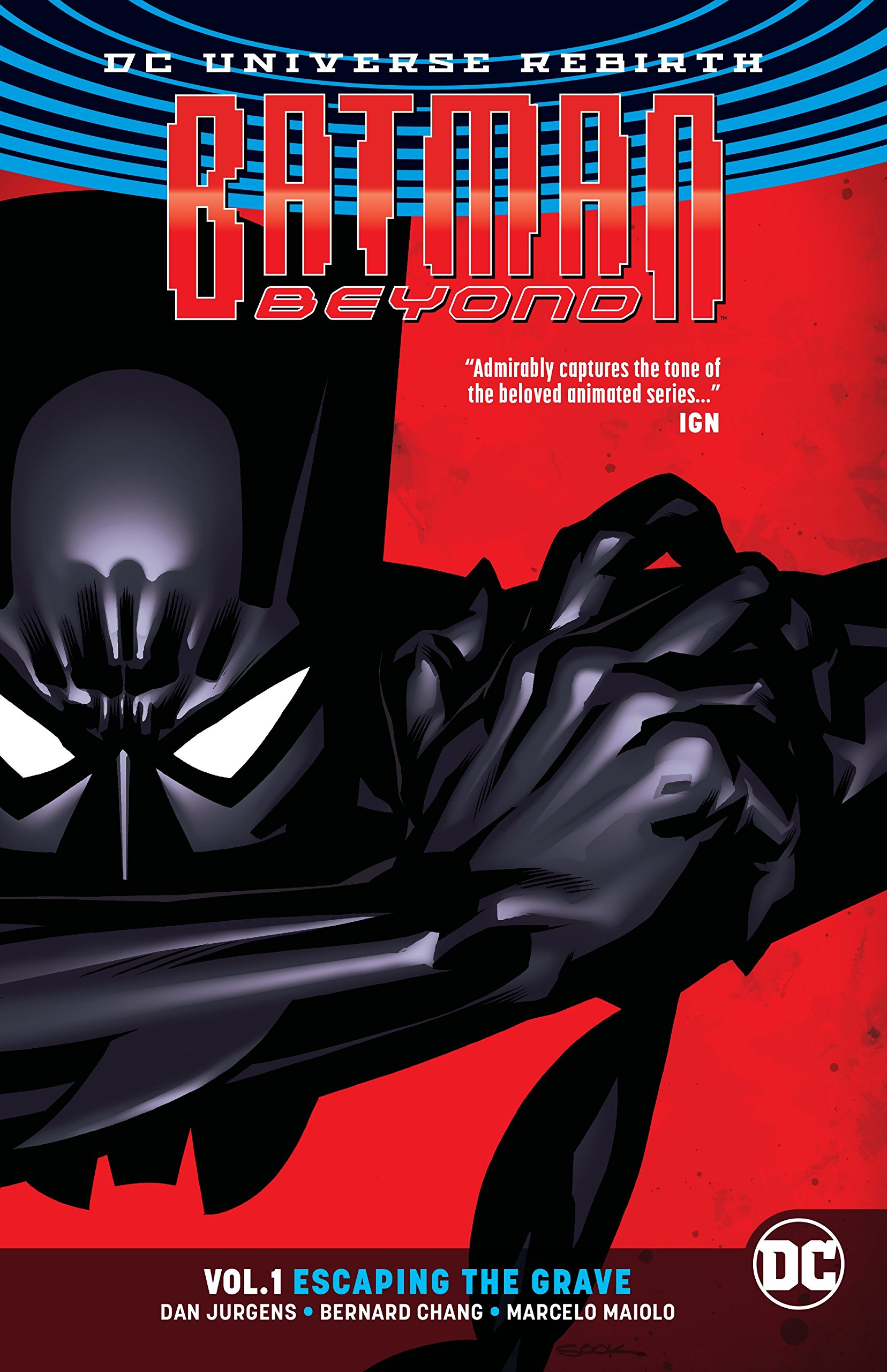 Batman Beyond Vol Escaping Rebirth product image