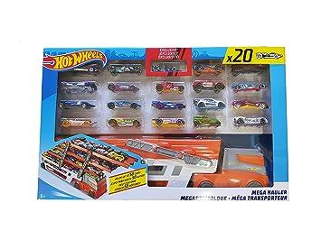 Mega 2137797 Voitures Hot Hauler 20 Wheels Hotwheels kPn8wOX0