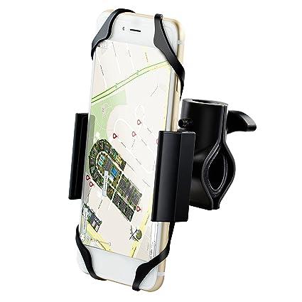 iPow® Universal bicicleta soporte con base de metal soporte de móvil, estable soporte para