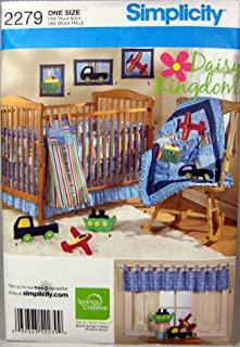 product image for Nursery Suite Complete Designed by Daisy Kingdom for Simplicity Pattern 2279